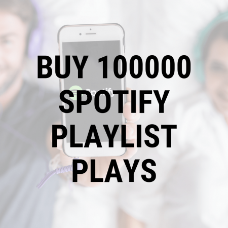 Buy 10,000 Spotify Playlist Plays