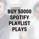 Buy 50,000 Spotify Playlist Plays