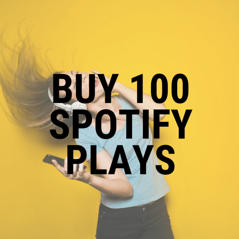 buy 100 spotify plays
