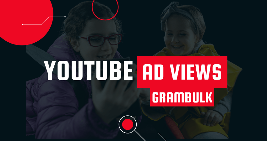 Buy YouTube Ad Views from Grambulk