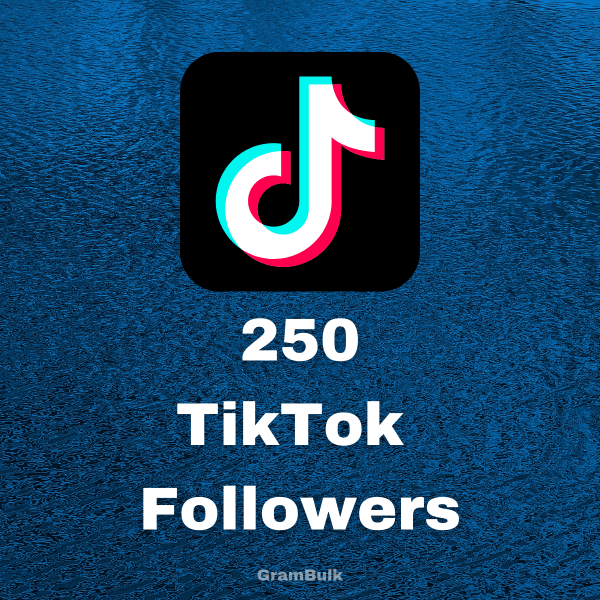 Buy 250 TikTok Followers
