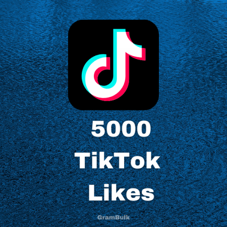 5000 TikTok Likes by Grambulk