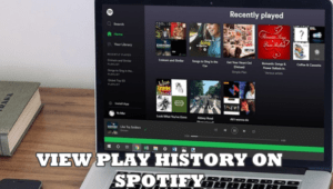 play history on spotify