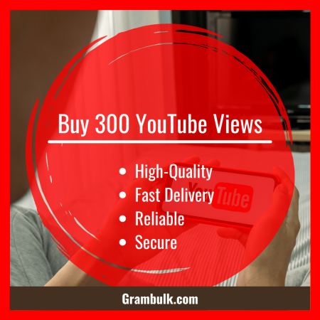 Buy 300 YouTube Views