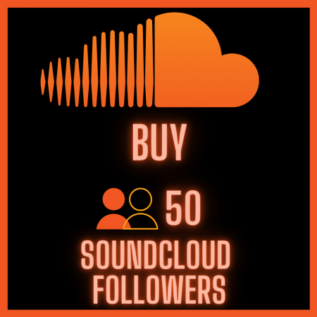 Buy 50 SoundCloud Followers