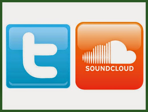 share soundcloud music on twitter