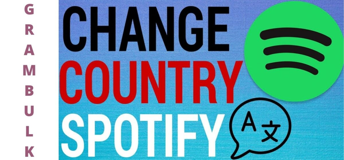 How to change country on Spotify