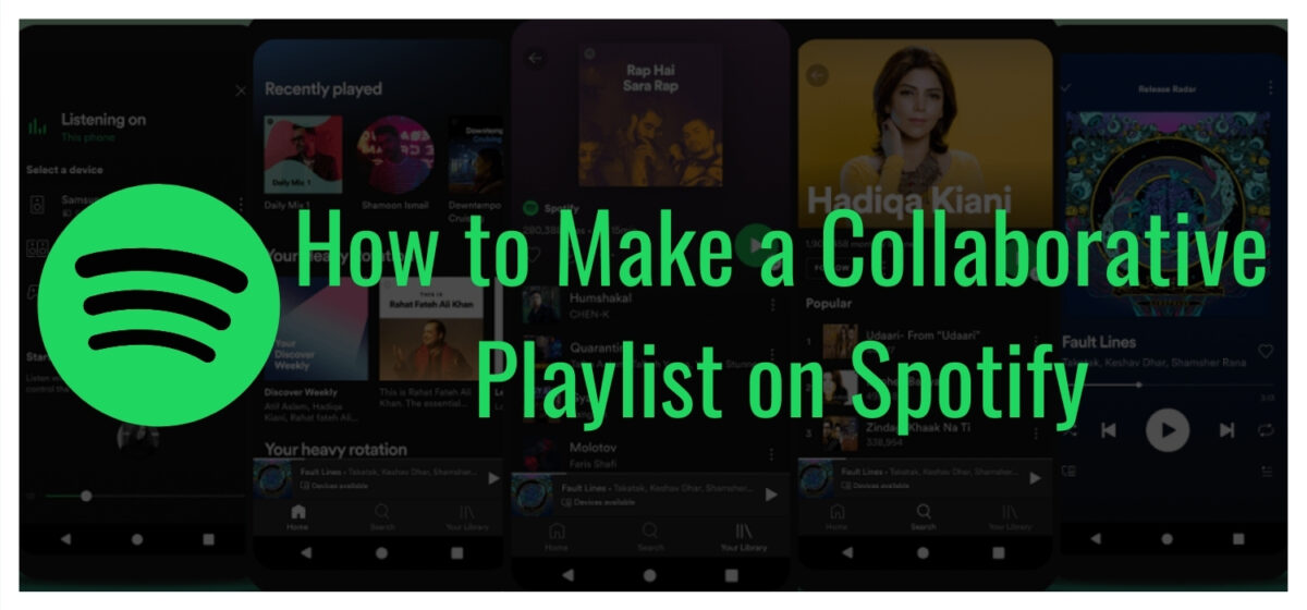 How to Make a Collaborative Playlist on Spotify