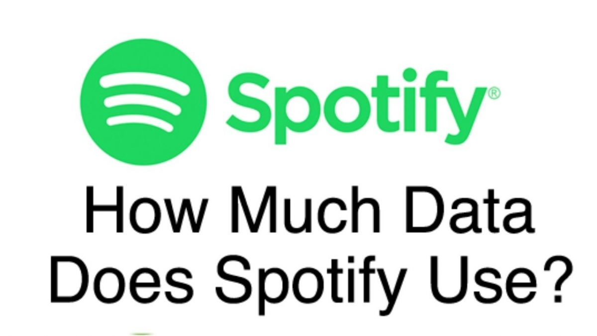 How much data does spotify consume