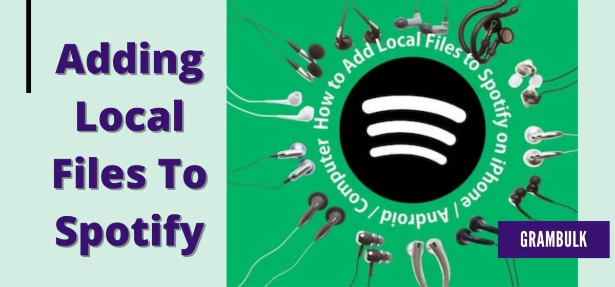 How to add local files to Spotify