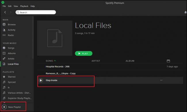 How to add songs to Spotify from the computer
