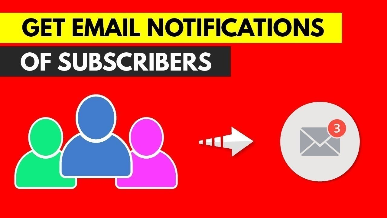 Get email notification