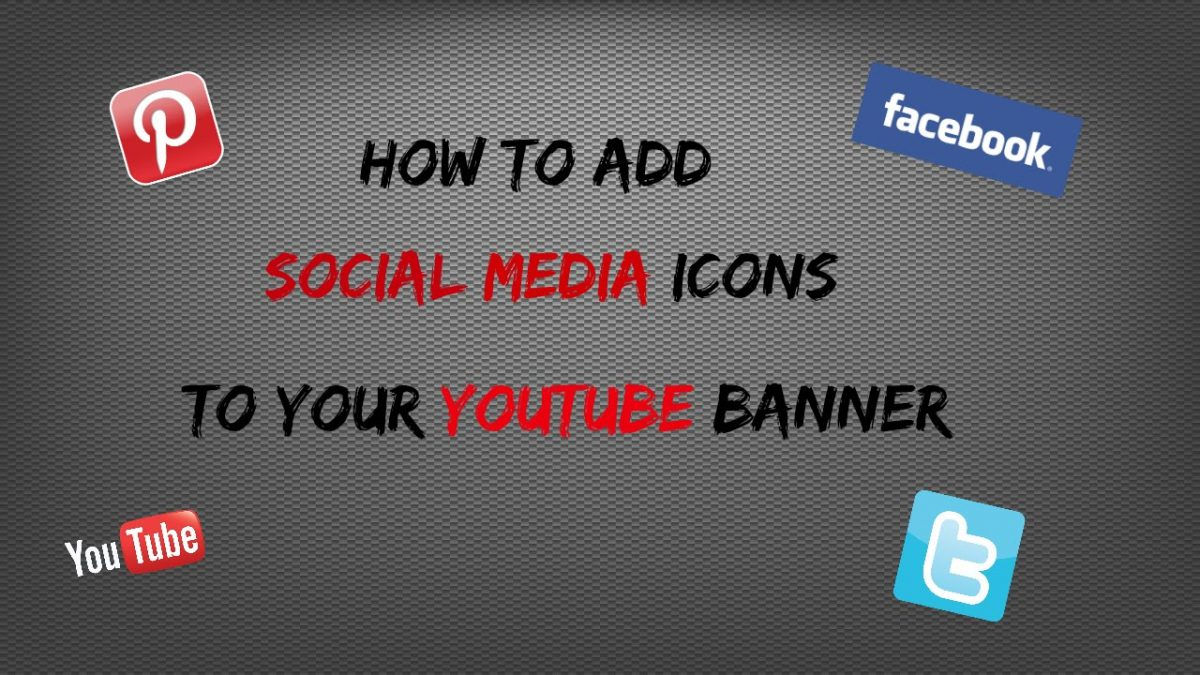 How To Add Icons On The Banner: