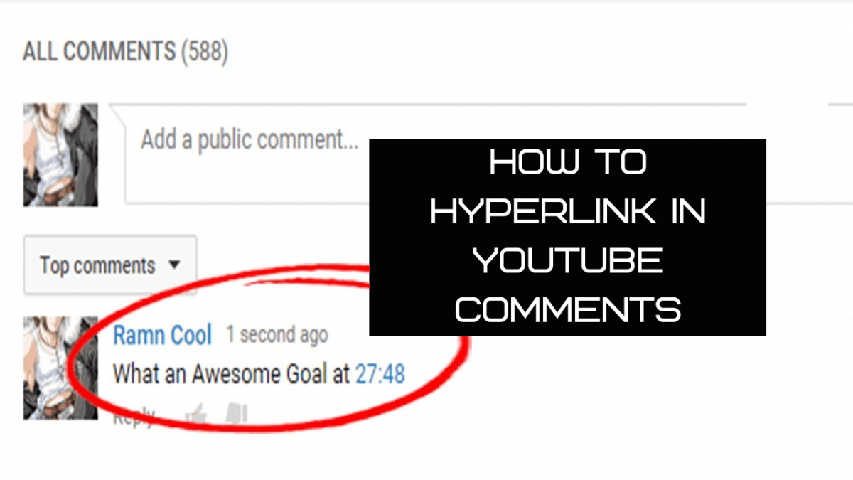 How To Hyperlink In YouTube Comments