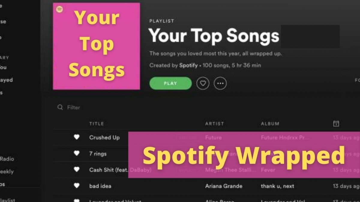 How to see your most played songs on Spotify