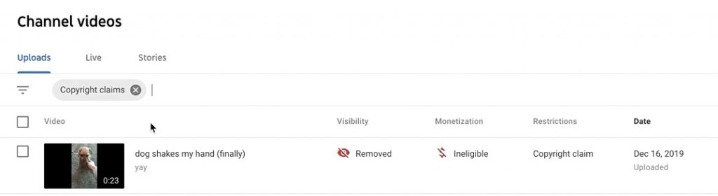 Step 2 to Remove Audio from Youtube video