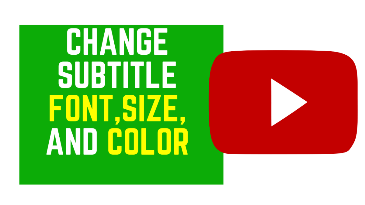 How to change YouTube font size