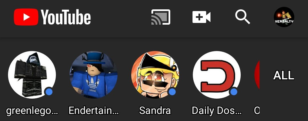 What Does The Blue Dot Mean On YouTube Mobile App